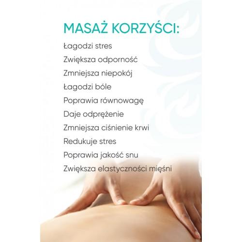 Plakat masażu